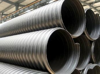 钢带增强聚乙烯( PE)螺旋波纹管价格