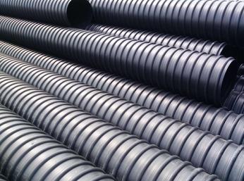 钢带增强聚乙烯( PE)螺旋波纹管质量