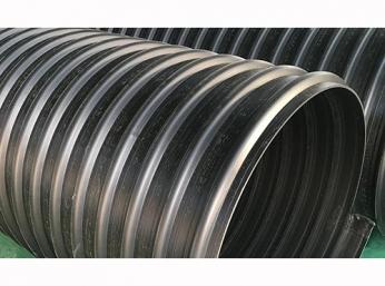 钢带增强聚乙烯( PE)螺旋波纹管报价