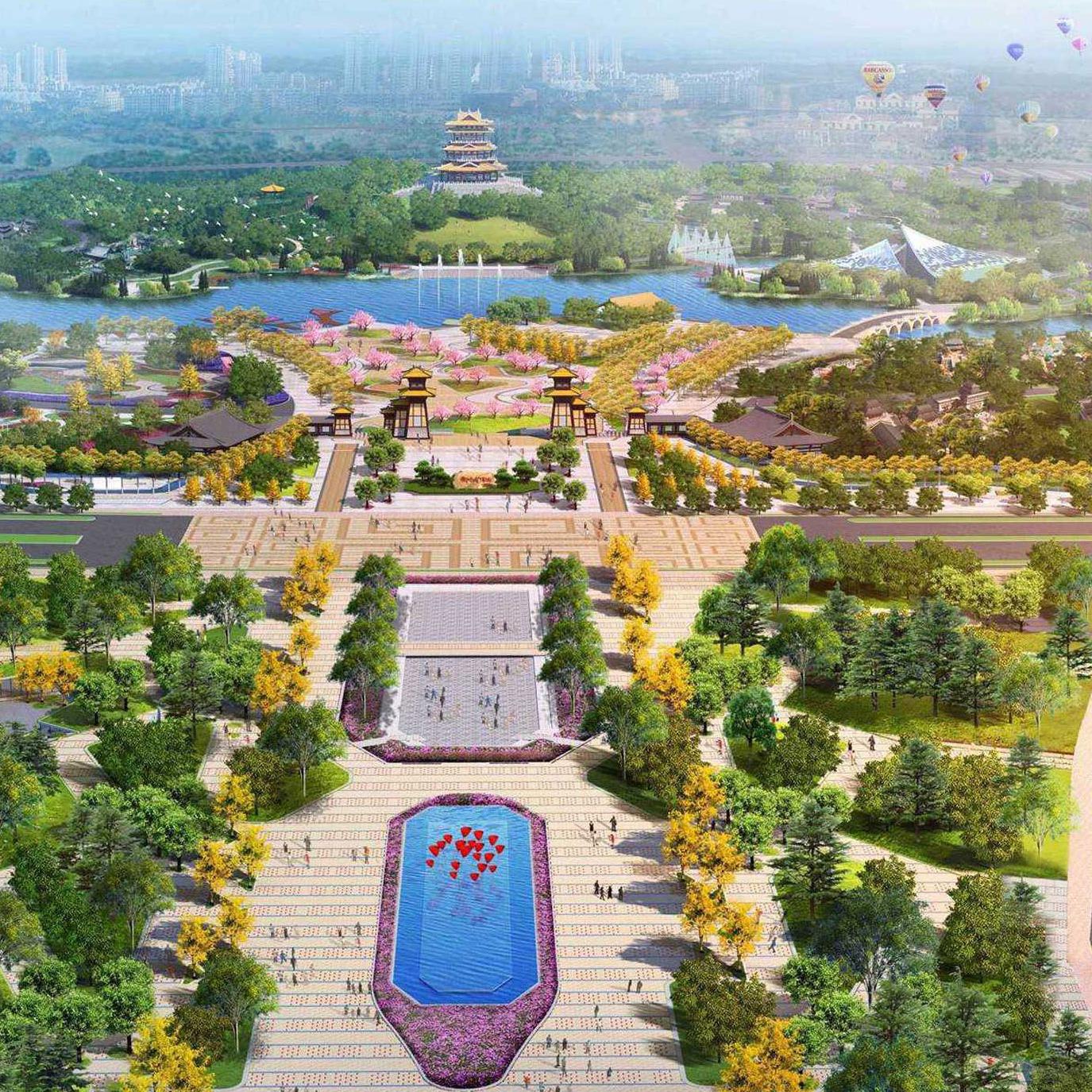 郑州园博园改造项目