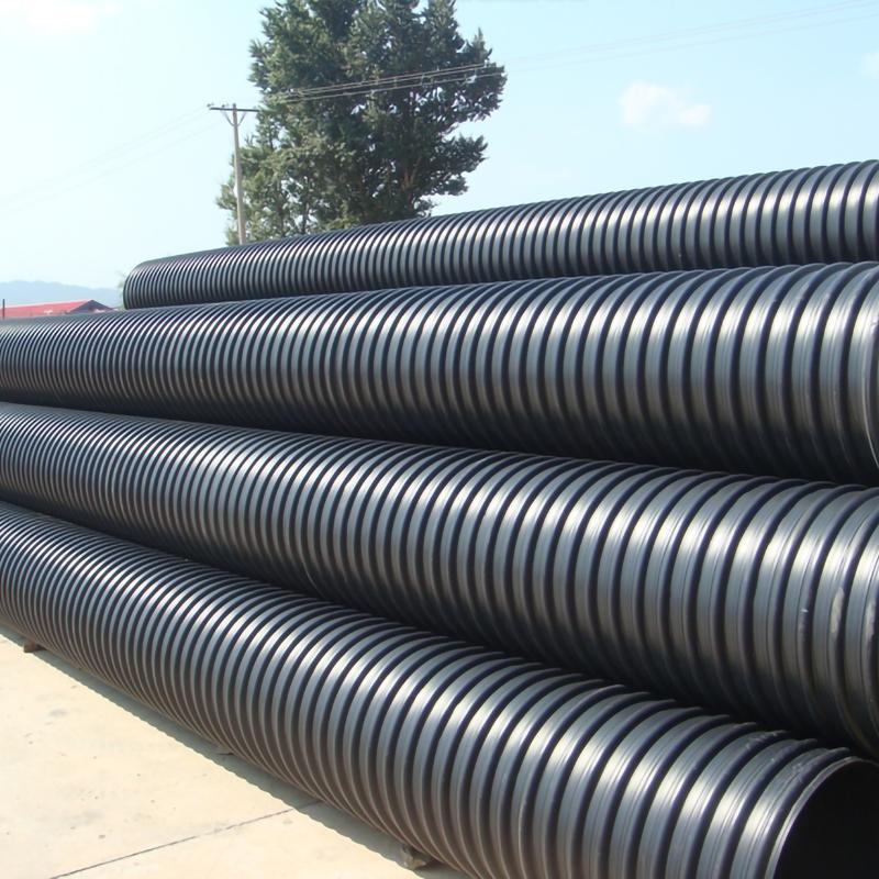 钢带增强聚乙烯( PE)螺旋波纹管厂家