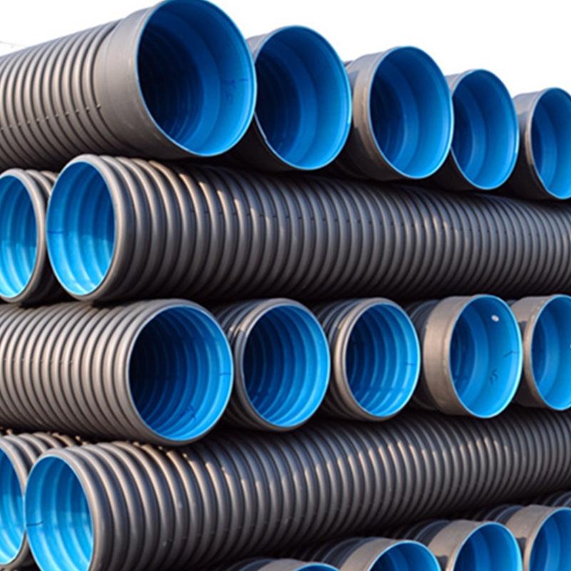 HDPE双壁波纹(大口径排污)管型号